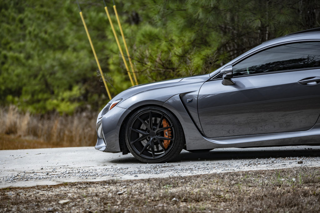 2017 Lexus RC F with Niche Misano Wheels