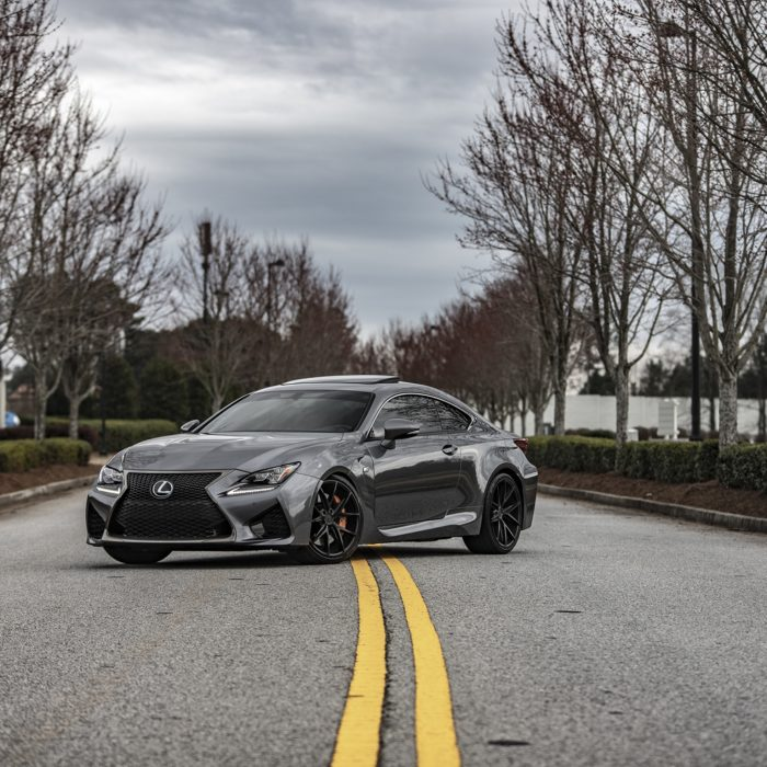 Lexus RCF with Niche Misano Wheels