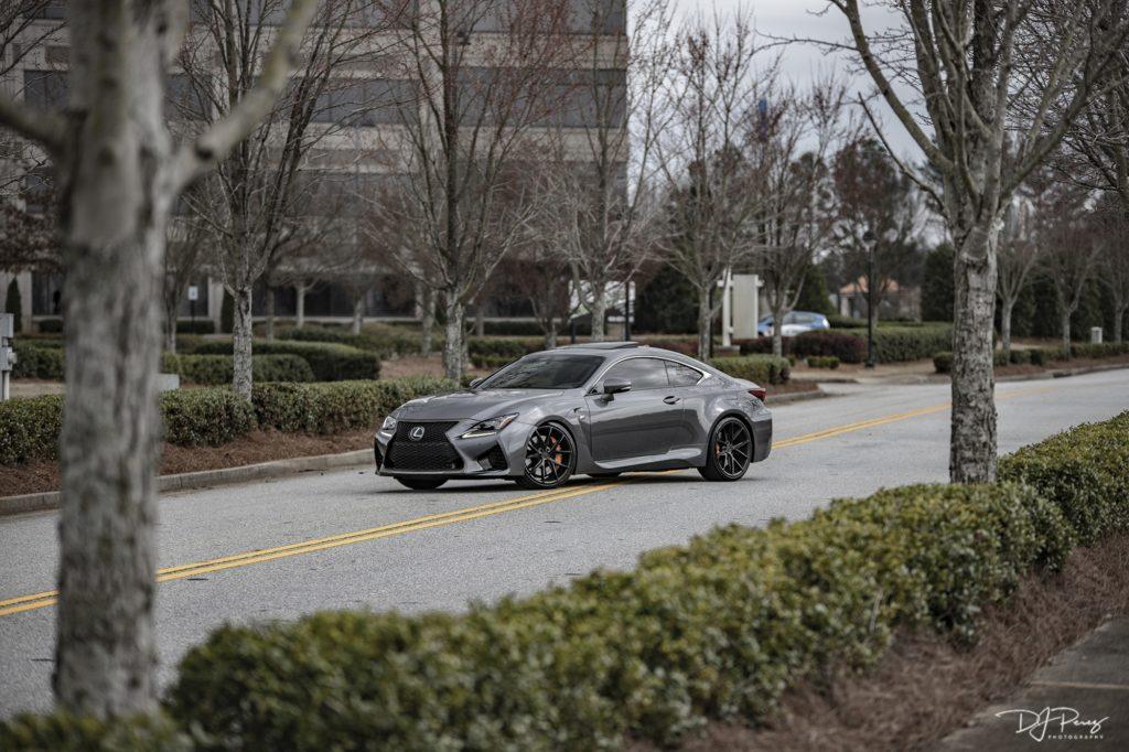 Lexus RCF with Niche Misano Wheels