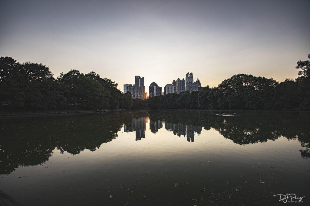 Piedmont Park in Atlanta Georgia 2019