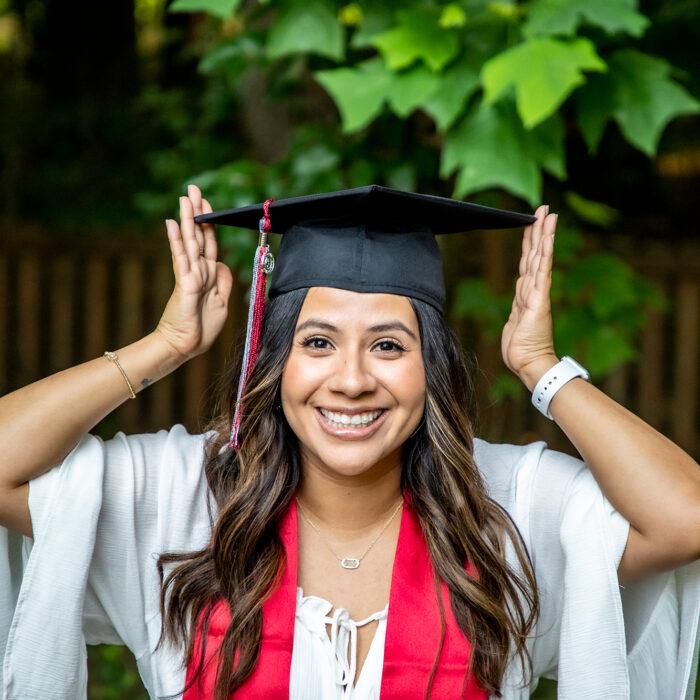 Yazmin Graduation Photoshoot
